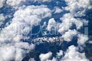 Alps with a bird's-eye view