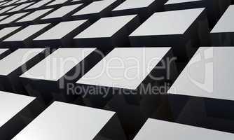3D Struktur - Graue Quader 7