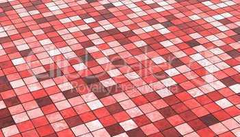 Hintergrund Bodenfliesen Rot Bunt