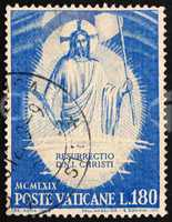 Postage stamp Vatican 1969 The Resurrection, by Fra Angelico