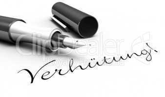 Verhütung! - Stift Konzept