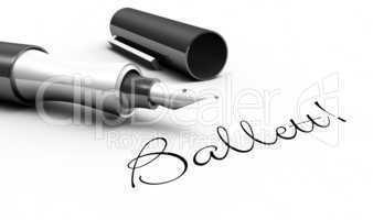 Ballet! - Stift Konzept