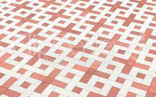 Hintergrund Bodenfliesen Kreuzmuster 1