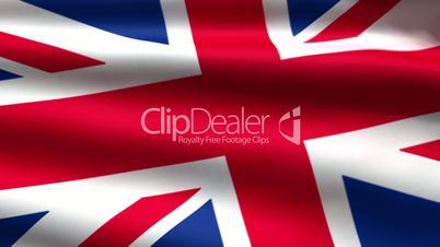 British flag background