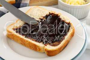 Spreading Vegemite