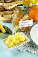 Marmalade And Butter