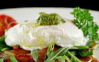 Poached Egg Pesto 3