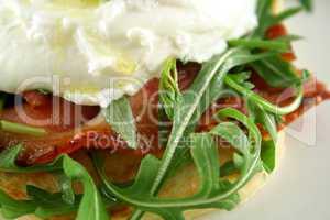 Poached Egg Pesto 4