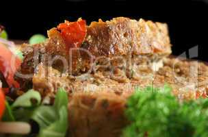 Meatloaf And Vegetables 3