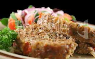 Meatloaf And Salad