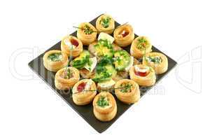 Vol Au Vonts And Camembert Bites