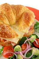 Cheese And Ham Croissant 2
