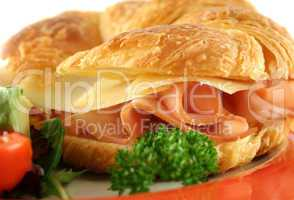 Cheese And Ham Croissant 3