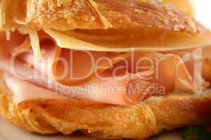 Cheese And Ham Croissant 4