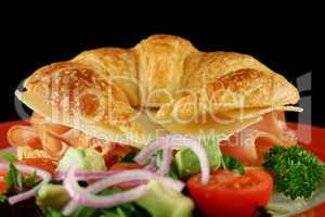 Cheese And Ham Croissant 5