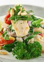 Chicken Pine Nut Stack 7