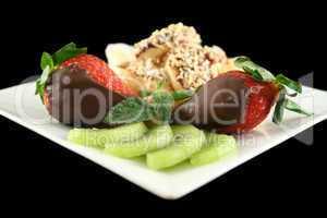 Choc Bananas And Strawberries 3