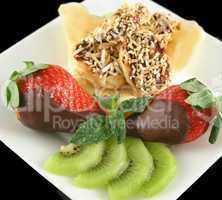 Choc Bananas And Strawberries 5