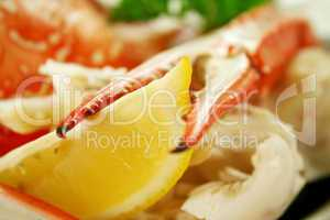 Cracked Crab And Lemon