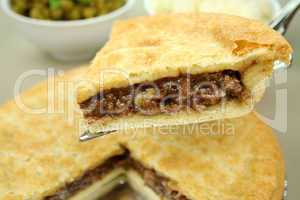 Slice Of Beef Pie