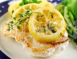 Pan Fried Perch And Lemon