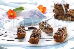 Chocolate Muesli Bars
