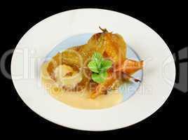 Orange Poached Pears 1