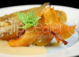 Orange Poached Pears