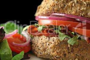 Wholegrain Salad Roll 4