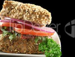 Wholegrain Salad Roll 9
