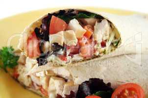 Chicken Salad Wrap 4