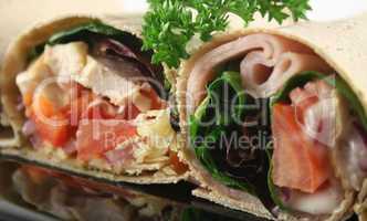 Mixed Wrap Platter 4