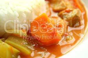 Carrot In Chicken Gumbo