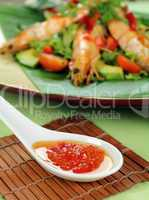 Chilli Shrimp Skewers