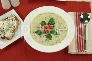 Creamy Spinach Soup