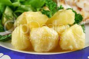 Crisp Baked Potatoes