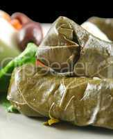 Dolmades And Salad
