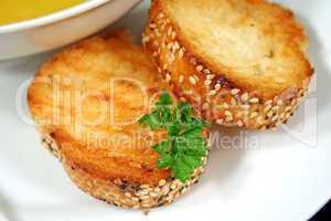 Garlic Infused Crusty Bread
