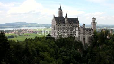 Schloss Neuschwanstein bei Füssen in Bayern