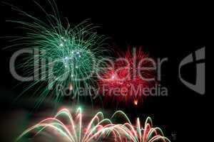 Feuerwerksexplosion