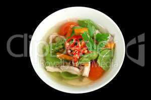 Low Carb Chicken And Vegetable Soup 1