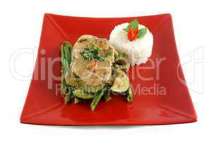 Thai Green Poached Chicken 1