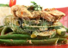 Thai Green Poached Chicken