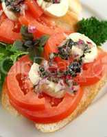 Tomato And Bocconcini Bites