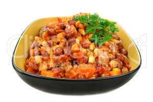 Vegetable And Lentil Hot Pot