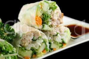 Vietnamese Rice Paper Rolls 4