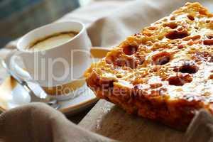 Honeycomb And Coffee