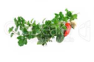 Garland Of Fresh Herbs