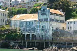 Ruins Of Alcatraz Military Chapel