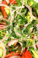 Salad With Chives 1